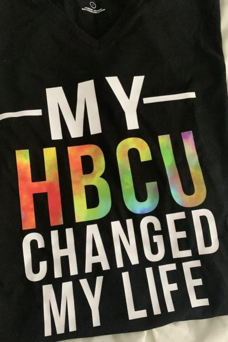 My HBCU changed my life. HBCU. College gead. Graduation. Historic Black College. Unisex tee