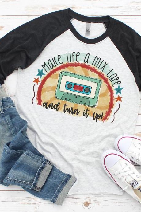 Make life a mixtape and turn it up. Sublimation. Next Level. Life. Live your life.