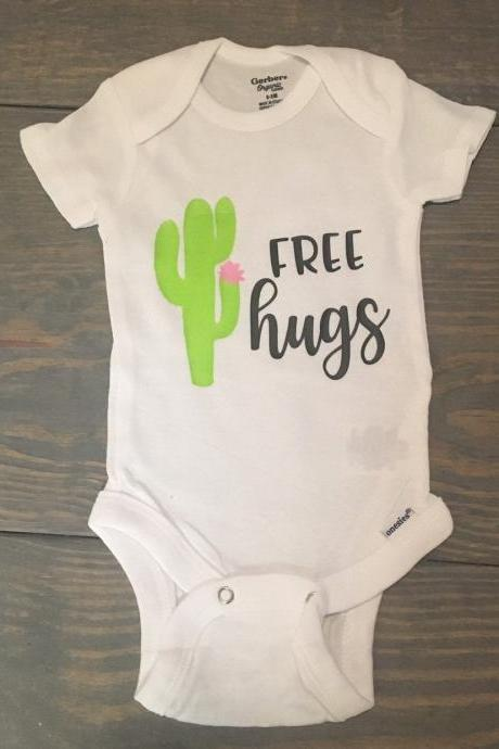 Free hugs .Infant. Toddler. Girl shirt